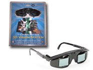 Edimensional E-D Wired 3D Glasses for the PC 频闪 液晶 快门 主动式立体眼镜